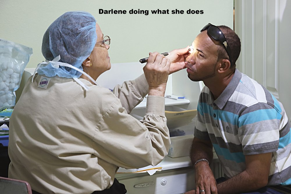 Darlene Doing What She Does