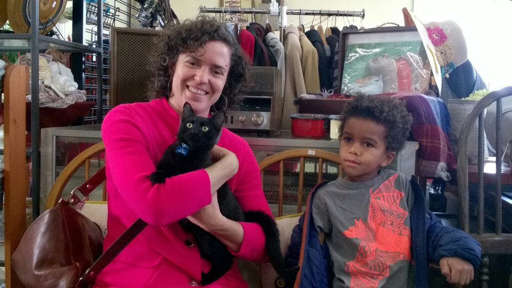 Salem is bright-eyed and excited about going home with his new family! Adopted from our Blue Lake store 1/4/18.