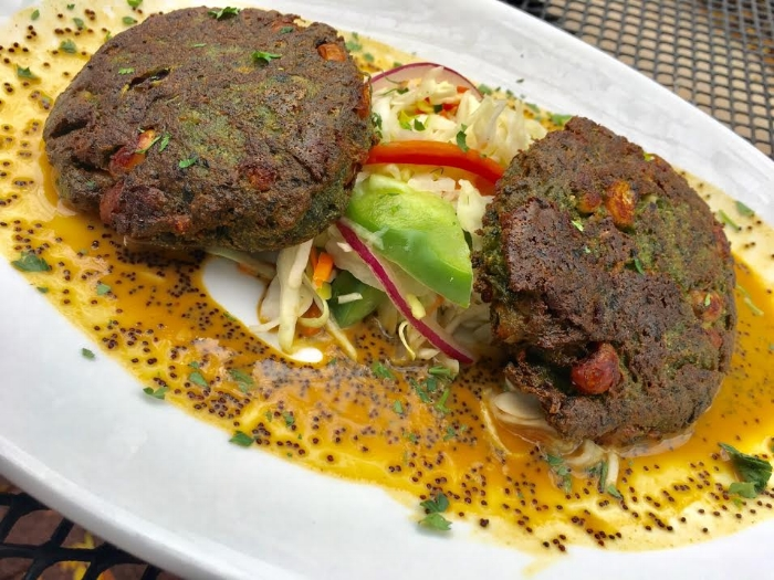 Spinach and Black-Eyed Pea Cakes from The Union