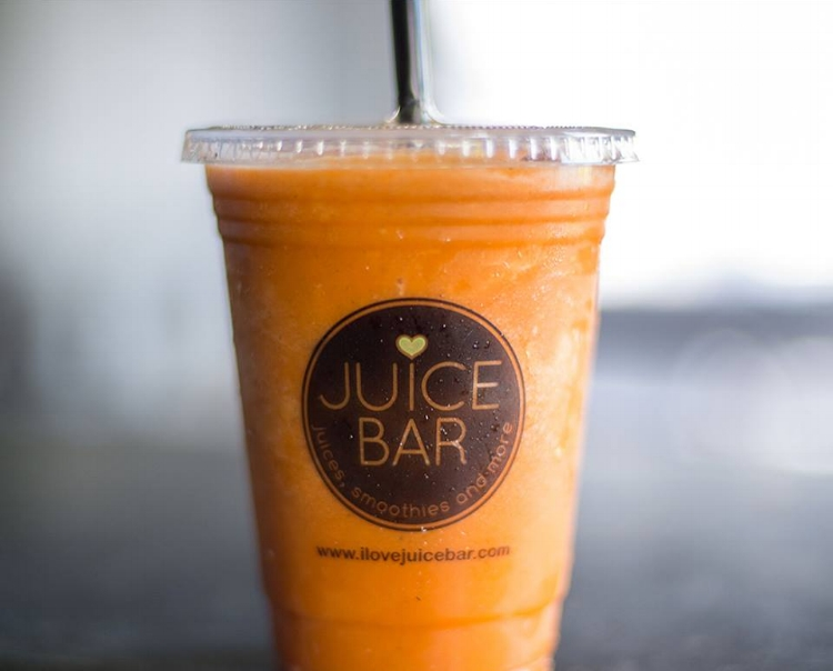 Juice Bar's Orange You Smooth