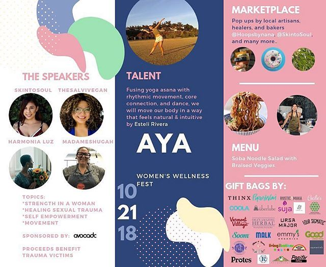 Calling all #girlbosses and extraordinary women of Los Angeles! ✨ As You Are: Women's Wellness Fest is happening 10/21 and you won't want to miss it! • As You Are is a wellness event for the modern woman to reclaim ancestral knowledge while shedding trauma in a safe, supportive environment. • It will have inspiring girl bosses, meditation, yoga, yummy treats, goodie bags, a female-friendly marketplace & lunch by our fav @maneatingplantla, and more! • This event was created to break barriers and connect women looking for a place to heal, a place to be heard, a place where they are valued and cherished, while supporting trauma victims via workshops & self-help programs. • Business owners throughout Los Angeles will be sharing their personal stories - some about heart break, and others about trauma. They all have turned their abuse into positive light that is focused on being of service to society and now they are ready to be open with their fellow sisters. • The event will have giveways sponsored by @uberlube , @goodcleanlove , @foursigmatic , @malkorganics , @rosebudperfumecompany @justins , @ursamajorvt , @coola, @piperwai , @vermontvillage, @banyanbotanicals, @goodpop, @eatpastry, @supportedsoul, @positiv.clothing, @soomfoods, @floraandfaunabeauty, @lovesuja, @orasamazingherbal, @vitalproteins , @livinglibations , @rusticmaka , @gooddaychocolate, @mamadgsorganics, and many more! • Click the 🔗 in our bio to grab your tickets!