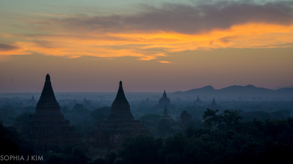 Dawn, Bagan, Myanmar