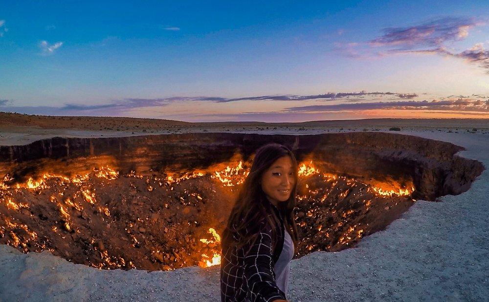 Darvaza Crater, Turkmenistan