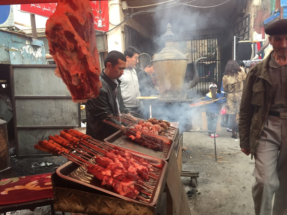 Uigher Street Food, Urumqi, Xinjiang Province, China