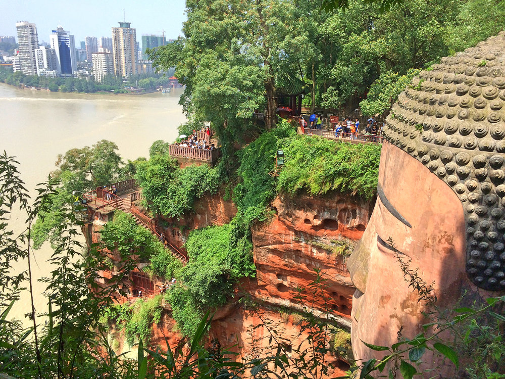 Leshan Big Buddha, China