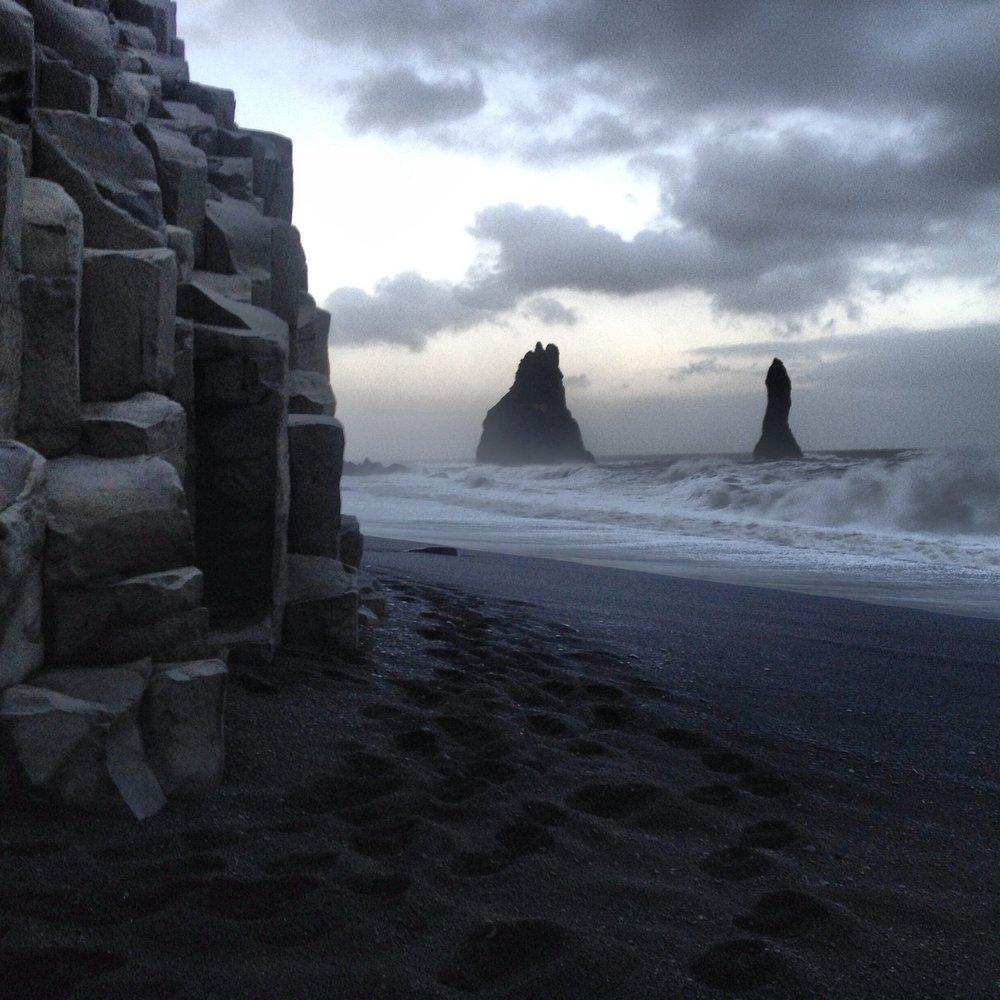 Black Sand Beaches