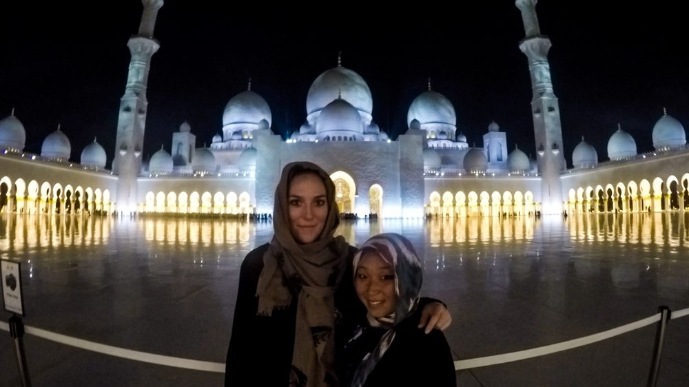Reunion in Abu Dhabi, United Arab Emirates