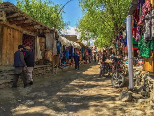 Local Afghan Market, Shugnan, Afghanistan