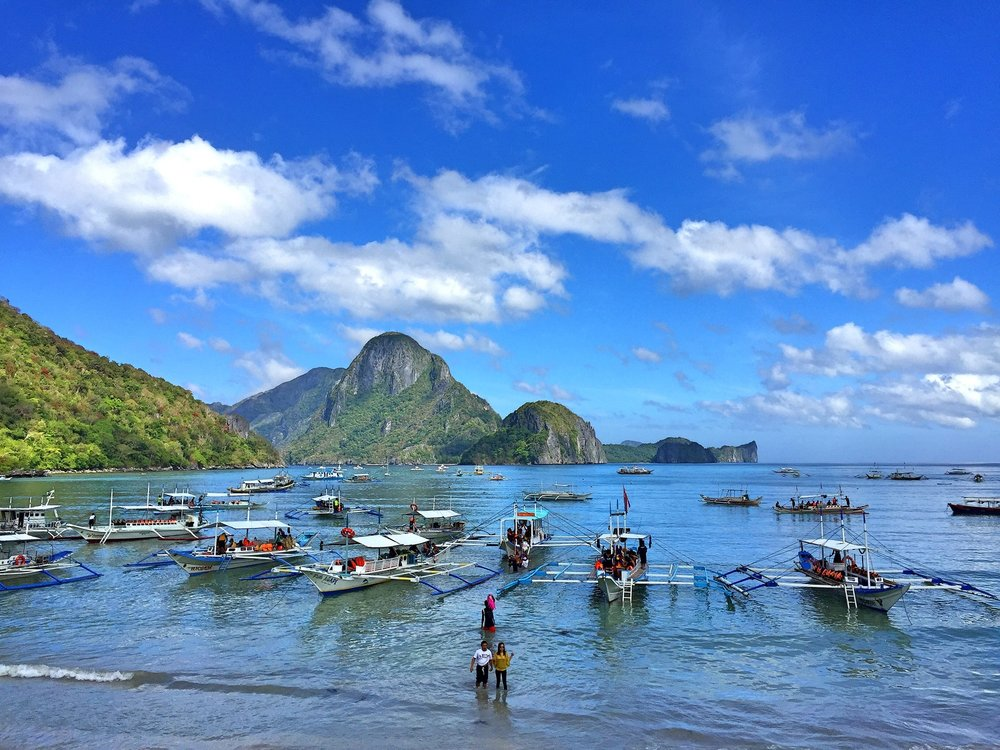 Boats Incoming, El Nido, Palawan, Philippines