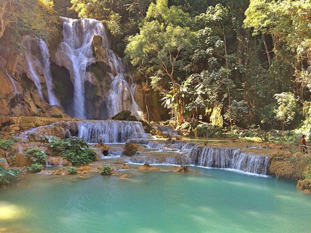 Kuangsi Falls, Luang Prabang, Laos