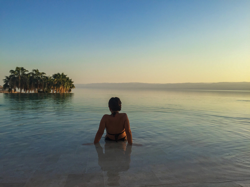Dead Sea Sunsets, Jordan