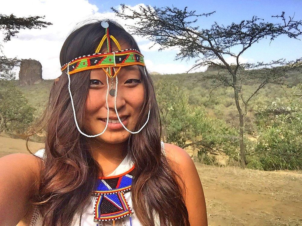 Kenyan Princess, Hells Gate, Kenya