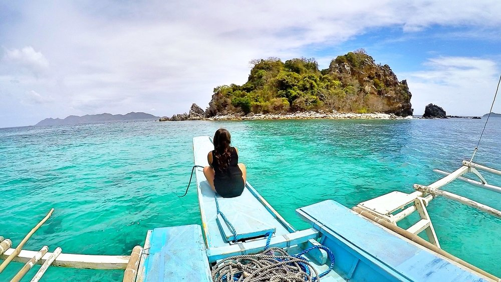 Isolation at Sea, Palawan, Philippines