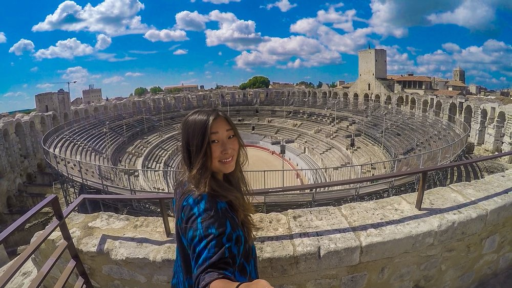 Roman City of Arles, France