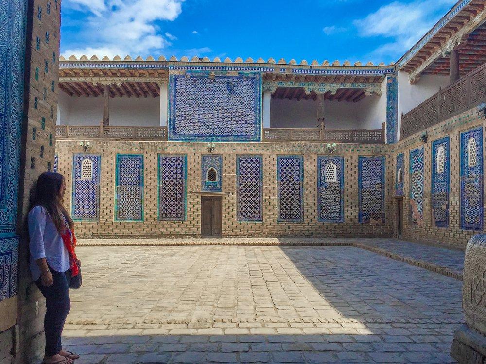 Stone Palace, Khiva, Uzbekistan