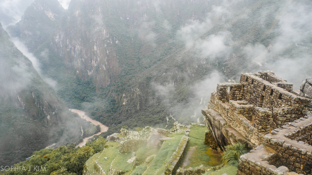 Ruins along the Inca Trail