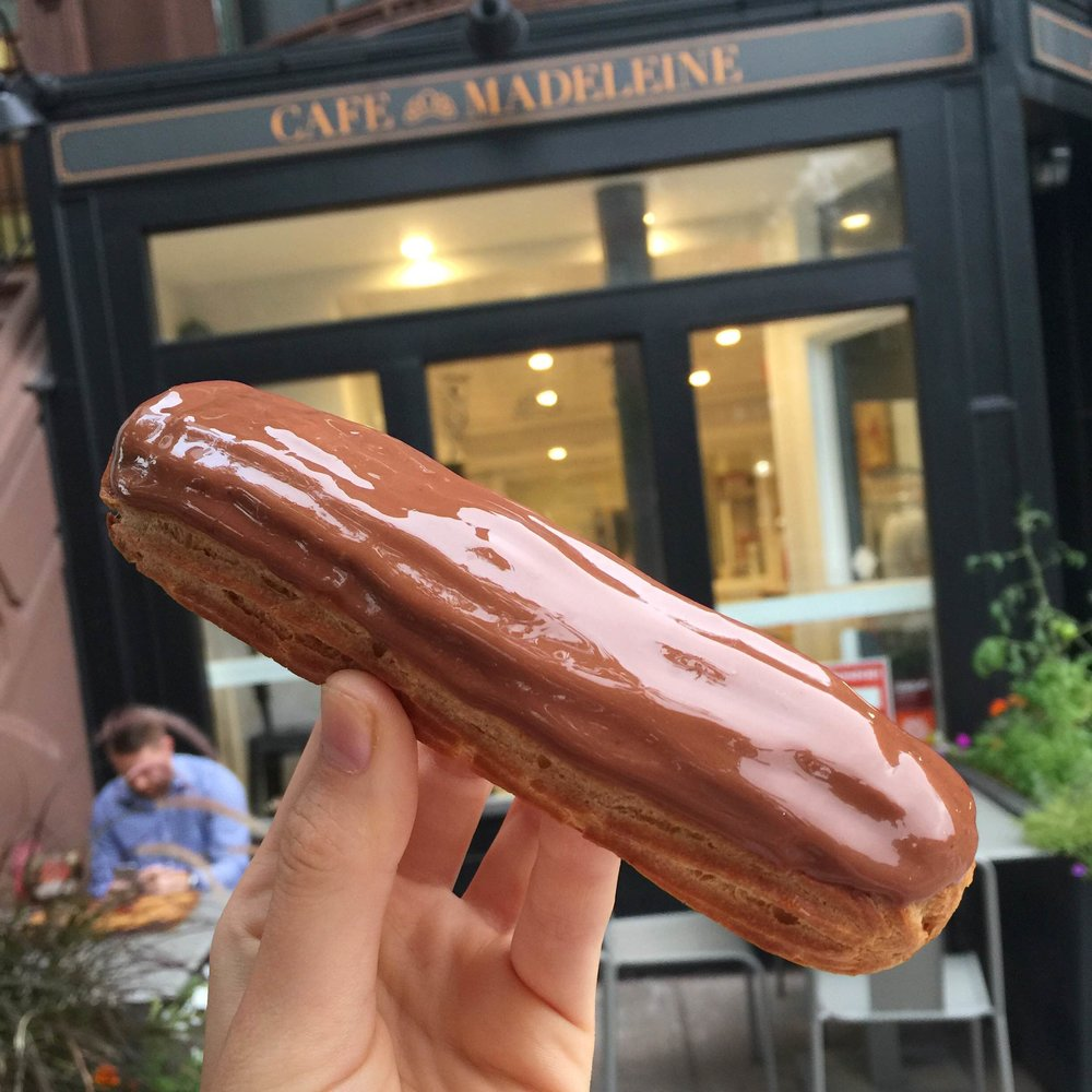 Photo by contributor  Sarah Taub , * description of Eclair provided by the Café