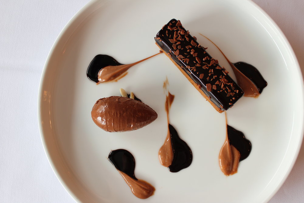 Dark & Milk Chocolate Dessert bar from Bagatelle New York City