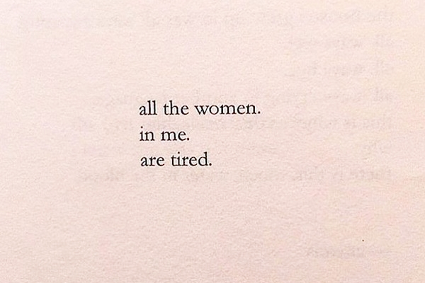 From the poetry of Nayyirah Waheed