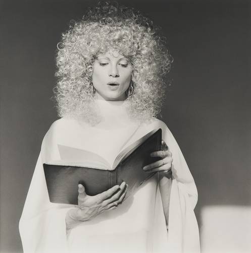 Lisa Lyon, 1982. From the Teller on Mapplethorpe exhibition.