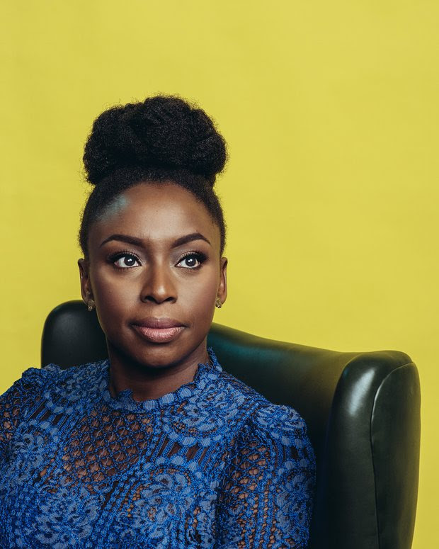 This week's WCW: Chimamanda Ngozi Adichie, who's the closest thing to a feminist rockstar I've encountered yet. Photographed by Stephen Voss for The Guardian.