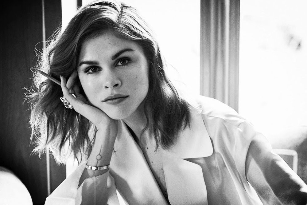 This week's WCW: Emily Weiss, CEO of beauty brand Glossier, because she's the dictionary definition of a game-changer. Photographed by Naj Jamai for Violet Grey.