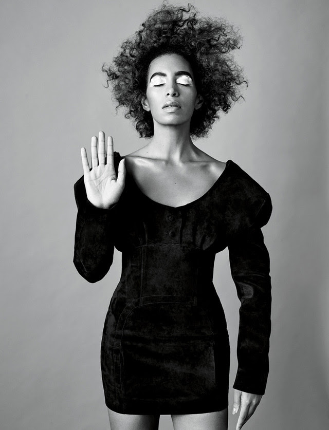 This week's WCW: Solange Knowles, because she's constantly innovating, inspiring, and pushing creative boundaries. Photographed by Nadya Wasylko for BUST Magazine.