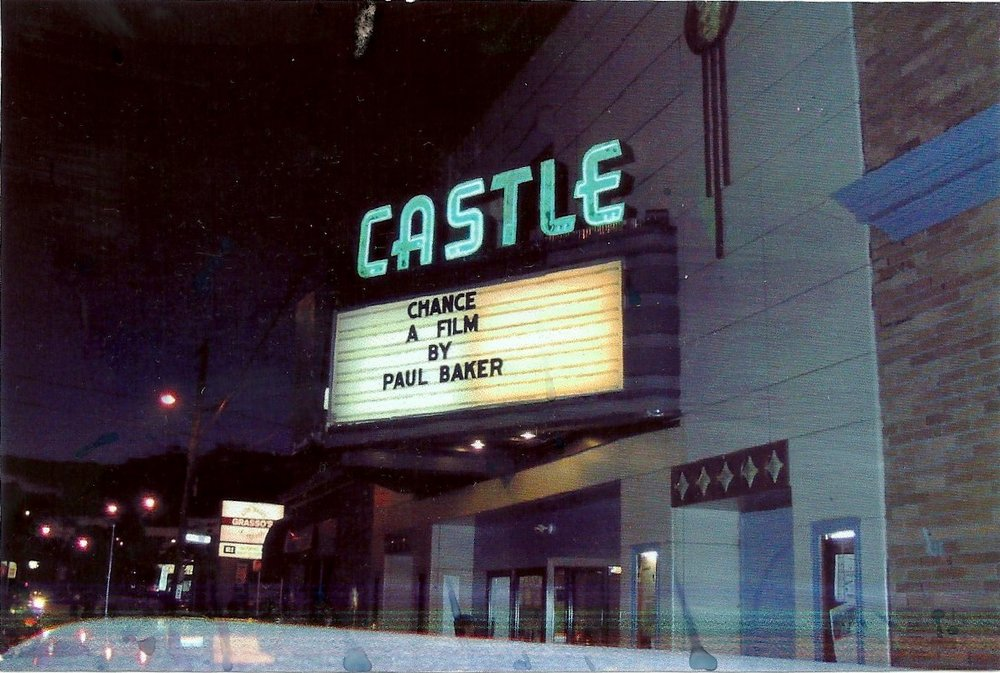 "Hometown screening of ""Chance"" at the Castle Cinema in Providence, RI. Attended by family and friends. A night I will always cherish."