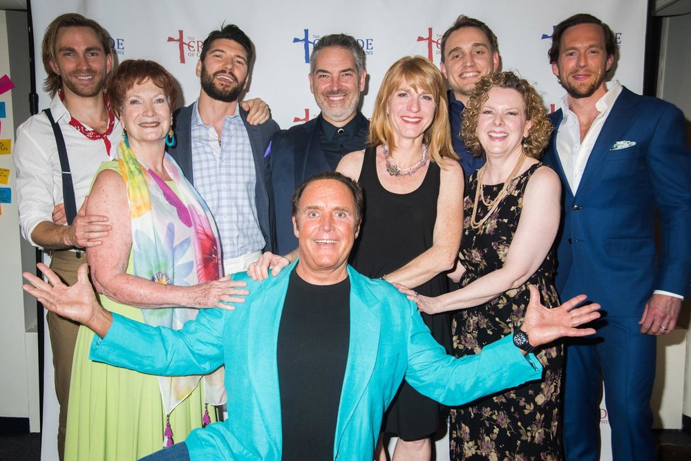 A JOYFUL CAST ON OPENING NIGHT!