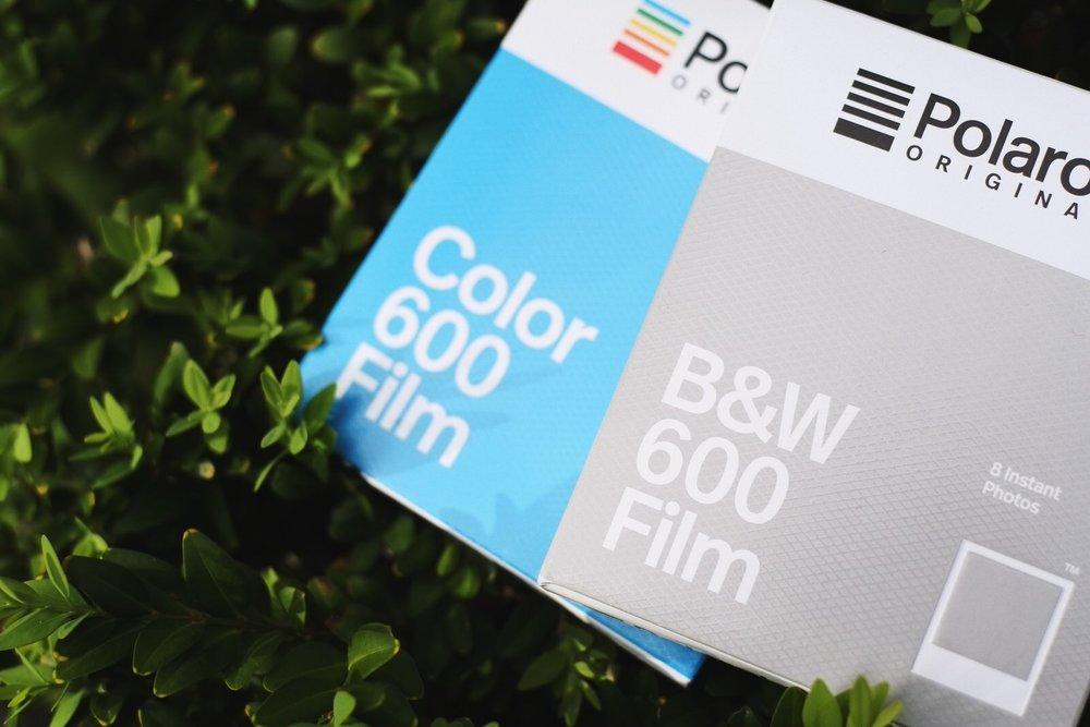 B&W 600 Film - 640 ISO, Deep Blacks, Bright Whites, Short Development