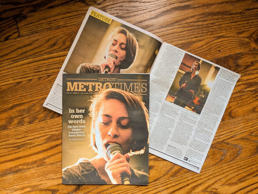 Photography commissioned by METROTIMES (Detroit) for 2018  cover article