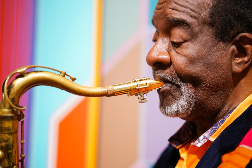 Wendell Harrison - Commissioned by The Kresge Foundation upon being chosen for the Kresge Eminent Artist Award.