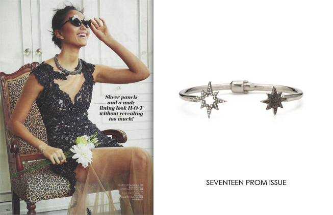 Renee Sheppard bracelet featured in Seventeen