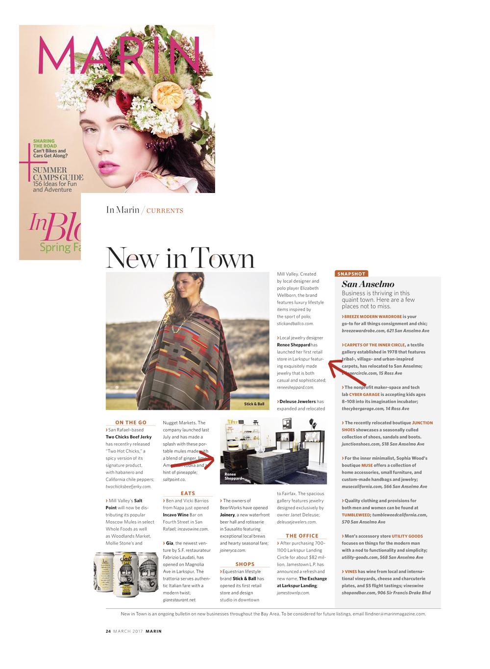 Renee Sheppard Marin Magazine