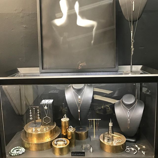 Renee Sheppard now available @dejung.designs in Sausalito CA. Message here for an apt or questions. #jewelry #gold #silver #diamonds #holidays #shopping #christmasshopping