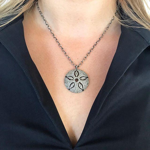 RS pave diamond starfish! Available at reneesheppard.com or message us here. #getyourblingon #diamonds #fashionistas