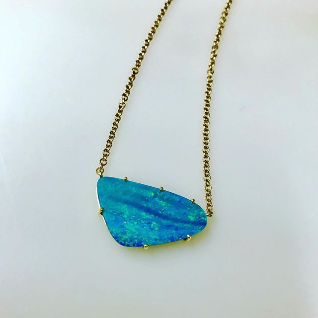 What's on your Christmas list? How about this RS & Ashley Morgan Designs collaboration opal necklace? Message for details ❤️🎁 #opal #necklace #fashionjewelry #christmasshopping