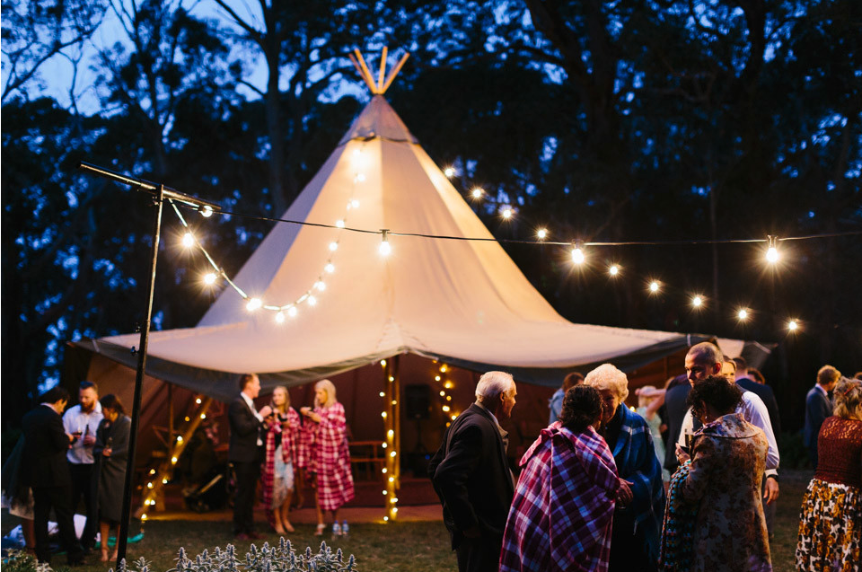 To the wonderful TipiKata team    Thank you for helping us create such a magical atmosphere at our wedding last November. We loved the extra Wow factor your incredible Tipi gave our venue and especially loved all our guest's reactions to it. One of our favourite parts of the night was dancing madly away in the Tipi with our family & friends surrounding us, with your fairy lights twinkling above.    Thanks again for all your advice and creative thinking in the lead up to our best day ever. We really appreciate your professionalism and super friendly service!    Warmest Regards    Josh and Jacinda Saunders
