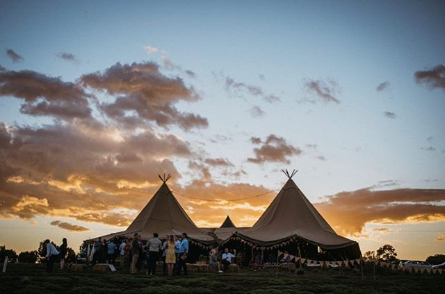 Mel and Jason's Camp Sunnystones wedding was definitely one to remember ♥️ We had the absolute pleasure of working alongside the team from @herecomesthetruck who planned, coordinated and styled two tipi weddings in row!! Mel and Jason celebrated in style with their nearest and dearest, relishing in the glorious summer night 🙌🏼 while @anna_t_photo captured it all 📸. Tap to see the tribe! • • • #diywedding #weddinginspiration #weddingstyle #melbourne #bride #victoria #weddingdress #weddinginspiration #tipihiremelbourne #bohobride #tipikata #countrywedding #victoriawedding #tipihirevictoria #eventhire #weddingflowers #weddingstyle #weddingplans  #wedding2019 #melbournewedding #melbourneevents #centralvictoria #melbournecbd #gippsland #morningtonpeninsula #geelong #greatoceanroad #bendigo #ballarat #bellarinepeninsula #teepeewedding #tipiwedding