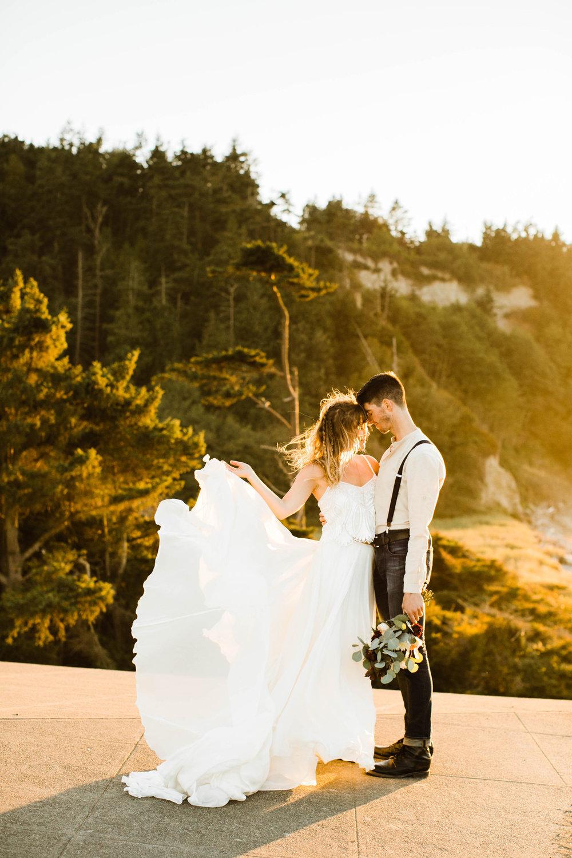 Washington summer elopement photography