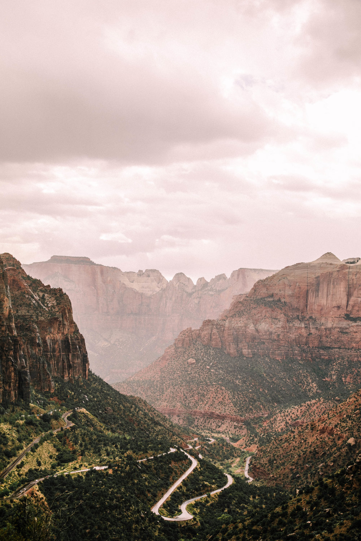 Zion National Park Elopement Photographer