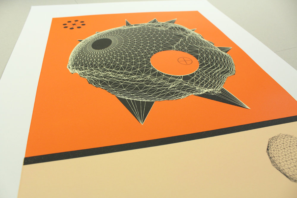 NEW PRINTS - 'Neptune Orange'
