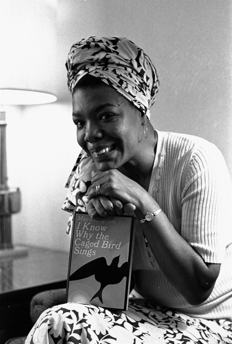 The beautiful, Maya Angelou