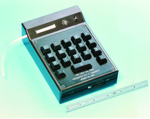 The first prototype , Texas Instruments' CalTech