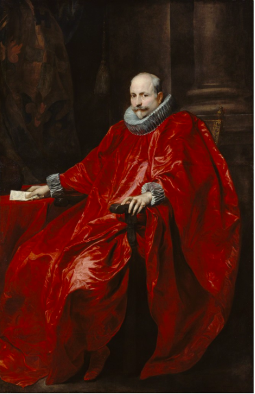 Anthony van Dyck    Portrait of Agostino Pallavicini , 1621   J. Paul Getty Museum