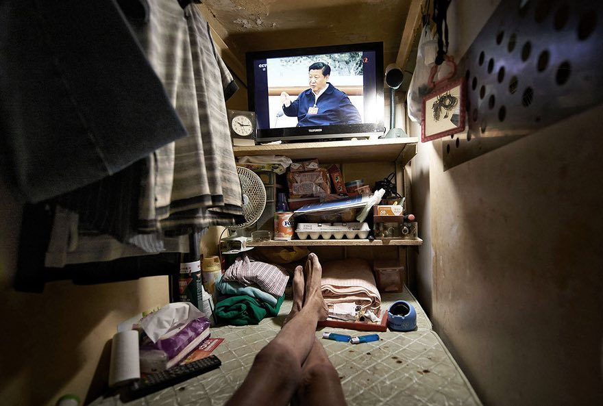 An estimated 100,000 people in Hong Kong live in inadequate housing, according to the Society for Community Organisation (SoCO)