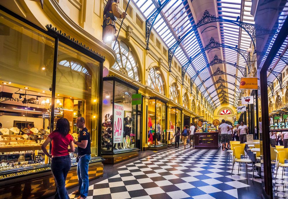 Melbourne Shopping Experiences Royal Arcade