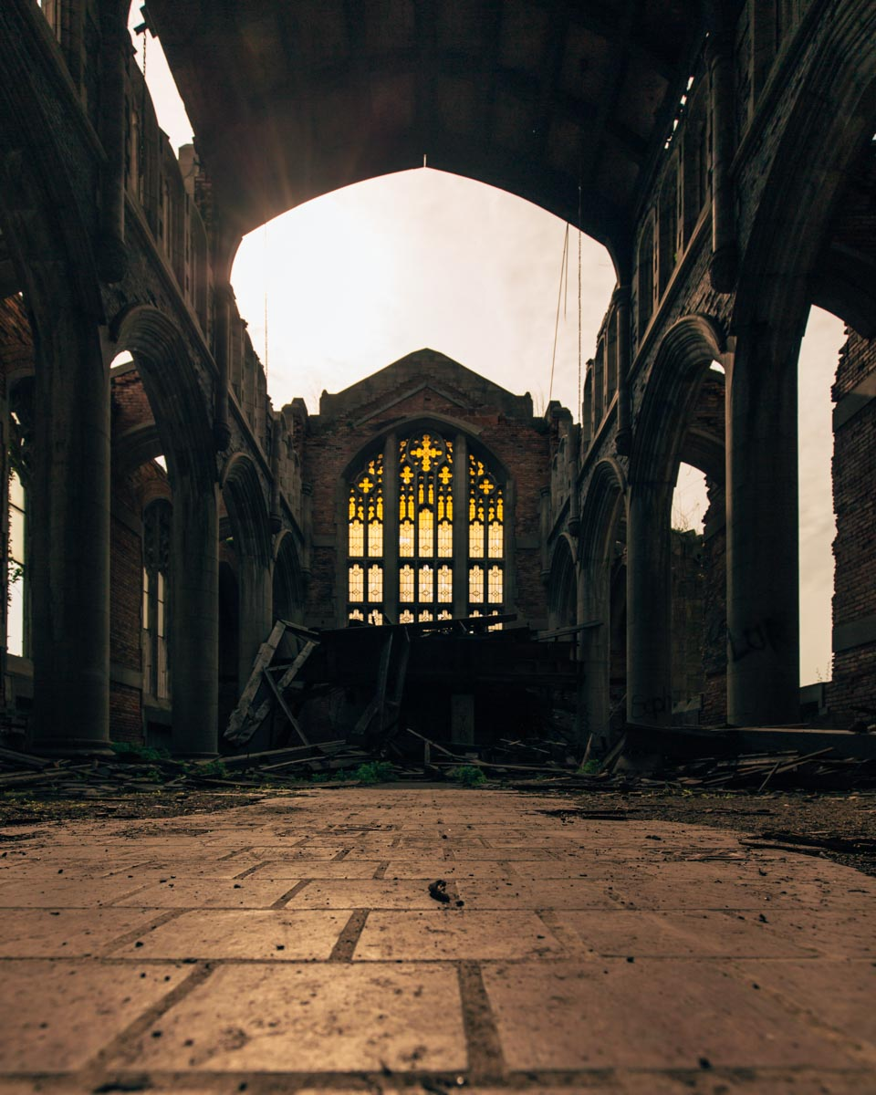 Abandoned Church - Gary, IN