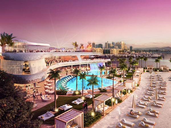 Artist's Impression The Beach Club:  Gold Coast Integrated Resort