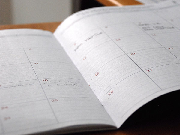 KEEP A DEPRECIATION CALENDAR -